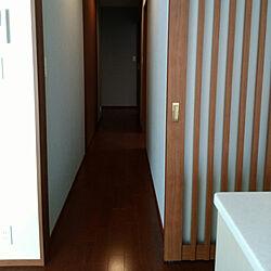 ヘーベルハウス/子供と暮らす。/廊下/リビングドア 引き戸/廊下収納...などのインテリア実例 - 2017-08-24 22:12:10