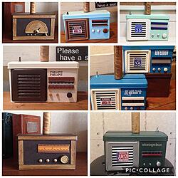ベッド周り/過去作品/ラジオ風コロコロケース/いつもいいねやコメありがとうございます♡/ミンネで販売しています...などのインテリア実例 - 2018-03-04 01:27:08