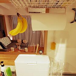 キッチン/シンプルな暮らし/2LDK賃貸マンション/すっきり暮らす/夫婦2人暮らしのインテリア実例 - 2021-06-07 21:04:23