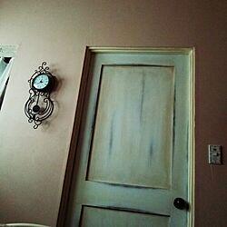 ベッド周り/ドア周り/ヴィンテージ のインテリア実例 - 2014-11-02 08:11:20