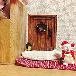 棚/クリスマス❤︎/セリア クリスマスのインテリア実例 - 2014-12-07 00:02:19