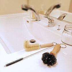 バス/トイレ/掃除します。/掃除道具/レデッカー/REDECKERのインテリア実例 - 2013-09-30 15:10:44
