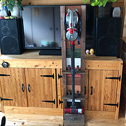 DIY/掃除機スタンド/スティック型掃除機スタンド/スティック型掃除機/掃除機...などのインテリア実例 - 2020-04-28 16:00:17