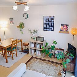 IKEAの棚/IKEAのソファー/スピーカー/清潔感/壁に付けられる家具...などのインテリア実例 - 2021-01-08 10:14:16