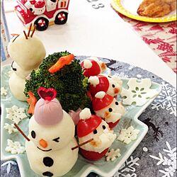机/クリスマスディナー/雪だるま/サンタさん/スリーコインズ...などのインテリア実例 - 2014-12-16 11:39:07