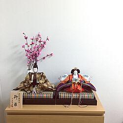 部屋全体/チェスト/IKEA/シンプルな暮らし/雛人形...などのインテリア実例 - 2019-02-18 09:25:46