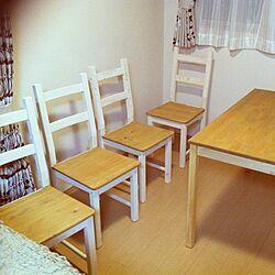 リビング/ハンドメイド/DIY家具/IKEA/ペイントした物...などのインテリア実例 - 2012-12-11 10:32:11