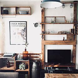 壁/天井/暮らしを楽しむ/古い物好き/フォロー&いいね ありがとうございます♡/木材好き...などのインテリア実例 - 2018-03-03 08:56:14