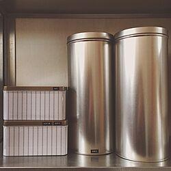 キッチン/DYMO/ダイモ/ラベル/缶...などのインテリア実例 - 2016-01-27 14:39:15
