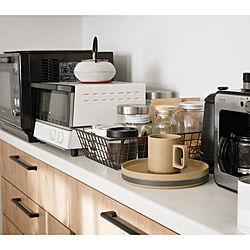 シロカオーブントースター/シロカコーヒーメーカー/ハサミポーセリン/リクシルキッチン/ライトグレイン...などのインテリア実例 - 2021-01-10 22:16:23
