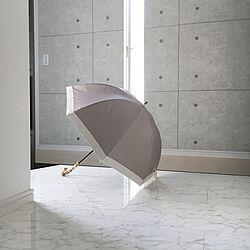 日傘/ホワイトインテリア/シンプルモダン/すっきり暮らす/玄関/入り口のインテリア実例 - 2021-06-06 14:38:35
