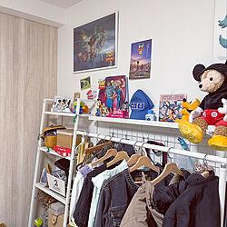ディズニー/ピクサー/こどものいる暮らし/IKEA/ベッド周りのインテリア実例 - 2021-07-02 10:10:22