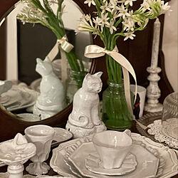 リビング/白い花/tuberose/チュべローズ/antique...などのインテリア実例 - 2021-09-16 12:44:55