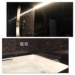 黒いお風呂/スパージュ/LIXILのお風呂/家づくり/バス/トイレのインテリア実例 - 2019-11-15 23:01:40