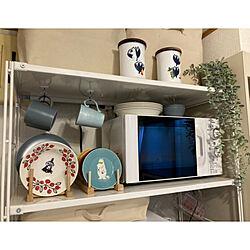 ムーミン/IKEA/一人暮らし/北欧/ニトリ...などのインテリア実例 - 2021-04-18 18:34:18
