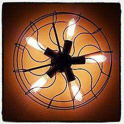 リビング/エジソン電球/電気の傘のインテリア実例 - 2015-07-03 12:28:51