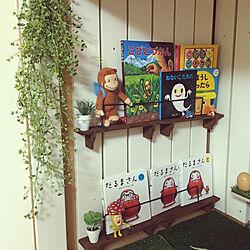 初DIY/セリア/押入れ改造子供部屋/秘密基地/DIY...などのインテリア実例 - 2019-05-14 18:15:43