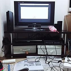 リビング/Nintendo switch/PS4/PS3/テレビのインテリア実例 - 2017-10-30 03:07:49