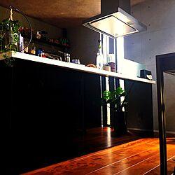 インテリアを楽しむ/みどりのある暮らし/アイランドキッチン/男前インテリアのインテリア実例 - 2017-06-14 09:53:17