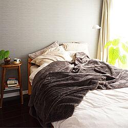 ベッド周り/一人暮らし/無印良品/シンプル/ベッドルームのインテリア実例 - 2017-11-22 23:37:55