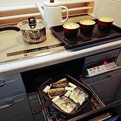 キッチン/キッチン/スチールグリルプレート/ニトリ/魚焼きグリルのインテリア実例 - 2021-06-03 21:15:17