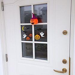 玄関/入り口/ハロウィン/玄関ドア/木の家/スウェーデンハウス ...などのインテリア実例 - 2015-03-16 21:37:32