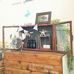 玄関/入り口/DIY/ステンシル/mamyuちゃんのポストカード/こどもと暮らす...などのインテリア実例 - 2017-06-01 08:33:50