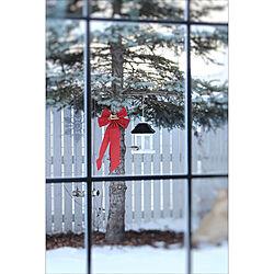 クリスマス/冬の庭を楽しむ/暇を持て余した主婦の遊び…/バードフィーダー/インテリアどころか外!...などのインテリア実例 - 2017-12-18 12:04:21