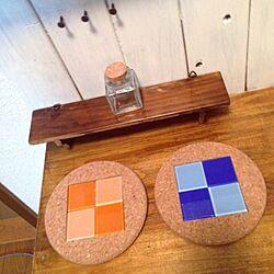 棚/ままごとキッチンDIY/カラーボックス/カラーボックスリメイク/DIY...などのインテリア実例 - 2014-09-27 14:38:37
