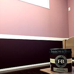 ピンクの壁/塗料:カラーワークス/イギリス直輸入/ペイント壁/アクセント壁...などのインテリア実例 - 2019-10-29 05:19:39