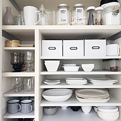 キッチン/ig→mimt38/収納/食器棚/DIYのインテリア実例 - 2020-07-07 22:23:08
