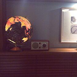 棚/チボリラジオ/地球儀ランプ/友人のアート/TivoliAudio...などのインテリア実例 - 2015-01-29 01:21:59