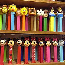 キッチン/おもちゃ/アメキャラ/PEZ/雑貨...などのインテリア実例 - 2015-01-30 05:32:35