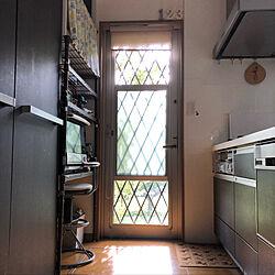 朝の時間/窓/朝の光/窓から見える緑/キッチンのインテリア実例 - 2019-08-10 07:51:26