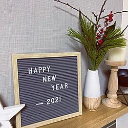 ニトリ/ダイソー/リビングのインテリア実例 - 2020-12-31 23:47:48