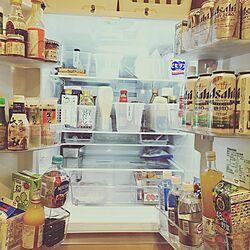 キッチン/TOSHIBA冷蔵庫/セリア/100均/冷蔵庫収納...などのインテリア実例 - 2016-12-16 12:11:06