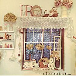 部屋全体/窓/ハンドメイド/DIY/雑貨...などのインテリア実例 - 2015-05-20 21:48:07