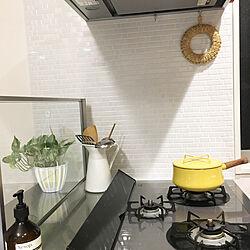 キッチン/towerコンロカバー/わらの鍋敷き/DANSK/IKEA...などのインテリア実例 - 2018-04-15 13:00:24