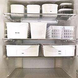 キッチン/冷蔵庫/冷蔵庫収納/整理収納/セリア...などのインテリア実例 - 2016-12-22 10:46:51