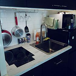 キッチン/オタク部屋/ワンルーム/IKEA/1R...などのインテリア実例 - 2018-08-23 12:54:13