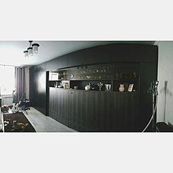 Loungeルーム/黒い家具/ミニマリズム/ハイテク/白い壁...などのインテリア実例 - 2015-11-22 02:42:49