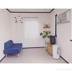 部屋全体/ソファ/ソファー/ウンベラータ/壁に付けられる家具...などのインテリア実例 - 2017-05-15 20:29:07