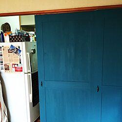 ふすまリメイク/賃貸/DIY/原状回復基盤/ふすま...などのインテリア実例 - 2015-05-05 12:11:29