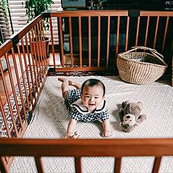 男の子ママ/観葉植物/韓国子供服/ジェリーキャット/赤ちゃんスペース...などのインテリア実例 - 2021-05-16 20:30:07