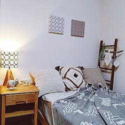 ベッド周り/寝具/狭小3階建/狭小住宅/普通の家...などのインテリア実例 - 2020-07-07 16:51:32