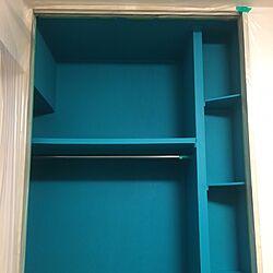 壁/天井/タグが使いたかった/ペンキ塗り後の壁/ペンキで壁を塗る/ペンキ塗りたて注意...などのインテリア実例 - 2016-02-11 16:38:05