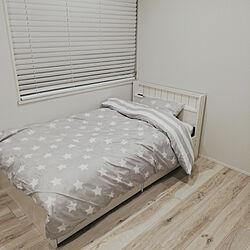 ベッド周り/ニトリ/北欧/モノトーン/子供部屋...などのインテリア実例 - 2020-10-23 17:52:49