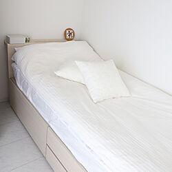 ベッド周り/一人暮らし/6畳/6畳1K/1K...などのインテリア実例 - 2019-08-18 09:59:59