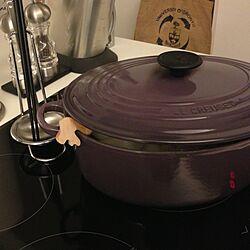 キッチン/鍋/ルクルーゼ/キッチンツールのインテリア実例 - 2012-11-12 20:24:30