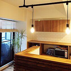 キッチン/DIY/リノベーション/リノベ/造作棚...などのインテリア実例 - 2017-02-25 00:57:05